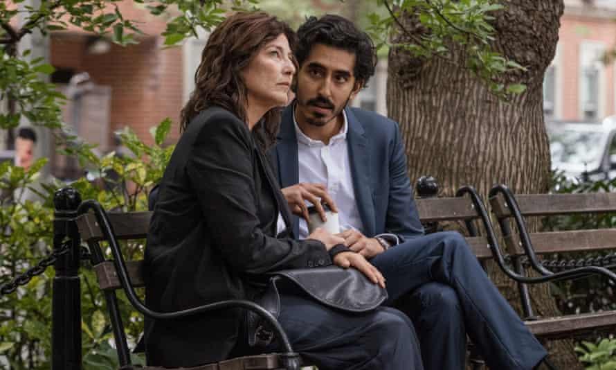 Catherine Keener and Dev Patel in Modern Love