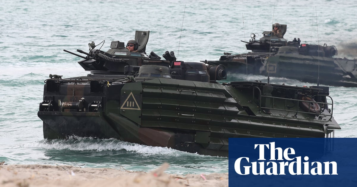 Eight US military members missing after vehicle sinks in training exercise – The Guardian