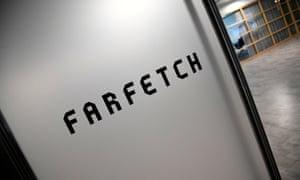 Online fashion retailer Farfetch's headquarters in London