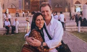 Nazanin Zaghari-Ratcliffe (pictured with her husband)