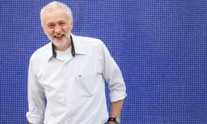 A rare smile from the self-proclaimed 'parsimonious MP' Jeremy Corbyn.