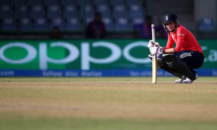 Sarah Taylor said: 'There have been times when I have had to run off into the changing rooms and be sick through sheer panic.'