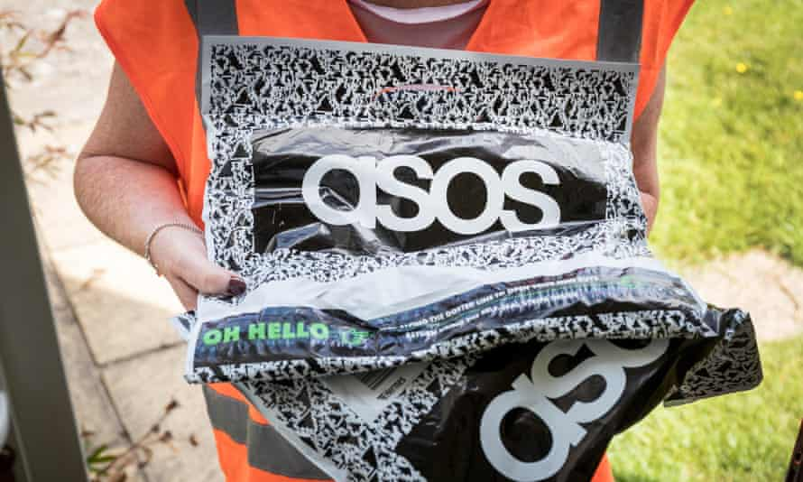 Health and beauty products were also popular with Asos customers.