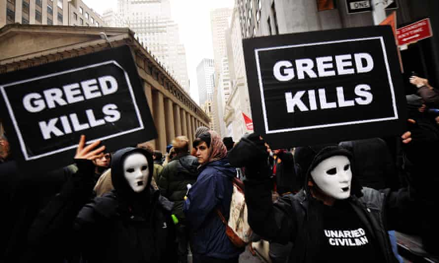 Occupy Wall Street protests in November 2011