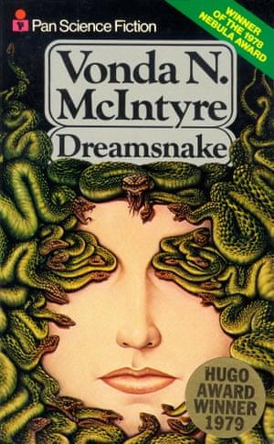 The cover of Vonda N McIntyre's novel Dreamsnake