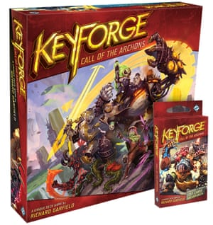 The strategy card game Keyforge: Call of the Archons hands players command of armies of knights, monsters, aliens and demons.