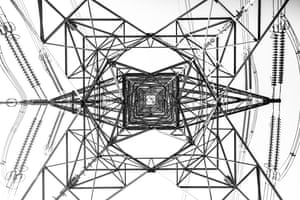 <strong>High Voltage by Rickie Cheung</strong><br>Power lines provide electricity for our cities and often appear dull and uninteresting from a distance. However, the sheer scale and complexities of these structures are apparent when viewed up close or from below.