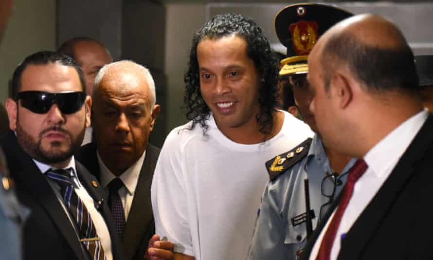 Ronaldinho will be allowed to return to Brazil after his release