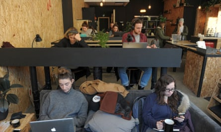 Alongside restaurants, chic coffee shops have become emblematic of Montreal's pace of change.