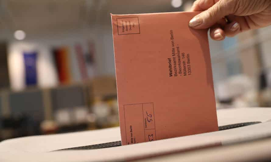Early voting in German federal elections this month in Berlin