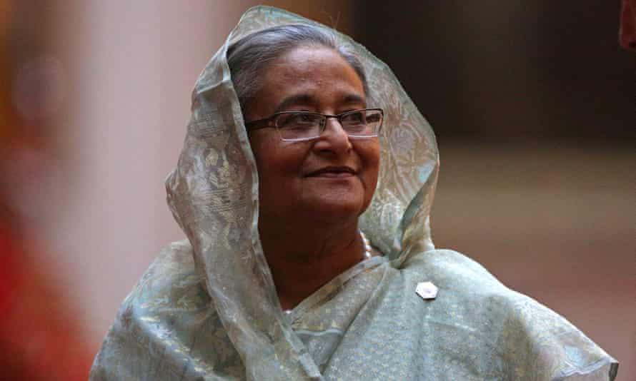 Prime minister of Bangladesh Sheikh Hasina, Saddiq's aunt.