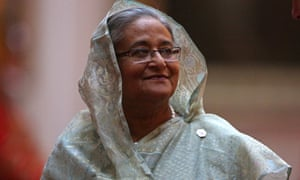Sheikh Hasina, the leader of Bangladesh