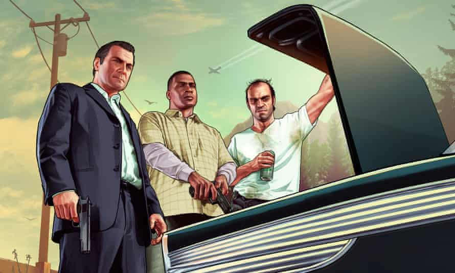 A still from Grand Theft Auto V