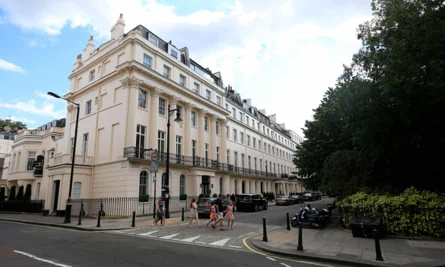 Eaton Square in central London is the jewel of the 300-year-old Grosvenor estate.