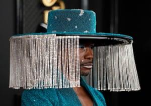 Billy Porter attends the 62nd Grammy Awards.