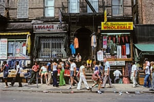 Sunday Morning on Orchard Street, NY, 1980