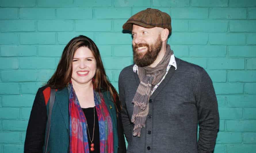 Gina Decio and Rob Carter