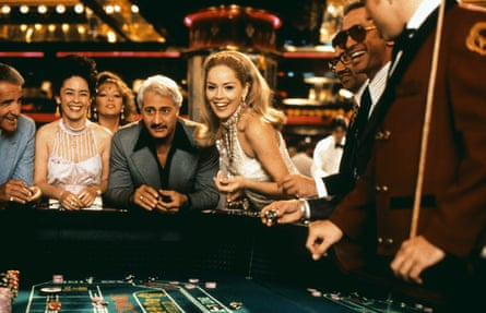 Sharon Stone as Ginger in Scorsese's Casino (1995).