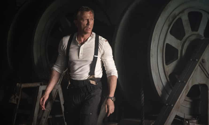 Daniel Craig in the new Bond film. It may not be on screens until next year but Watches of Switzerland said it could not get enough of his Omega