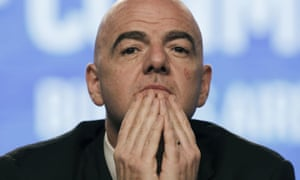 Gianni Infantino was Uefa's general secretary when he reportedly sent the emails. He is now the president of Fifa.