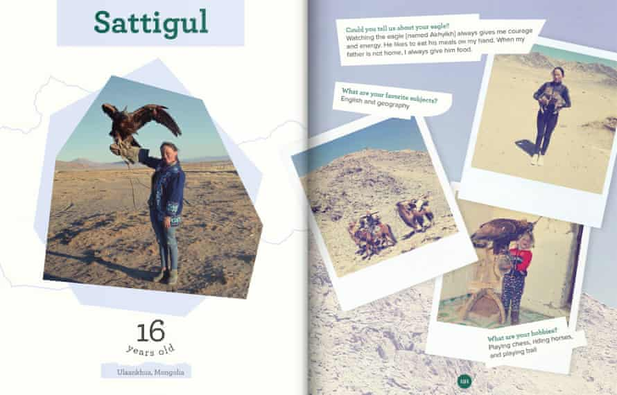 Sattigul is from a nomadic family of  herders