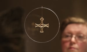Marie-Therese Mayne looks at St Cuthbert's gold and garnet pectoral cross at Durham Cathedral