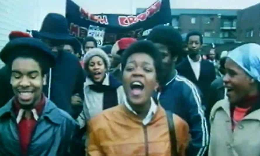 Blood Ah Go Run, Menelik Shabazz's film on the response to the New Cross Fire in 1981.