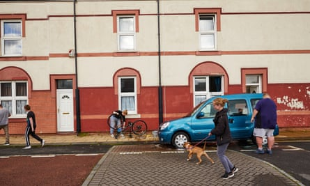 Everyday life in Hartlepool, County Durham.
