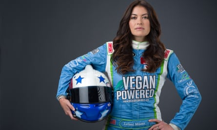 Racing driver and environmental activist Leilani Münter: 'My husband and I are child-free by choice""