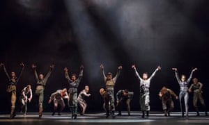 Untouchable by Hofesh Shechter performed by the Royal Ballet