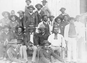 Australian South Sea Islanders at Otmoor sugar plantation in Upper Coomera, Queensland, ca. 1889.