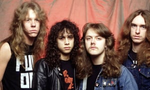 A metal template prizing melody and intricate arrangements as highly as brute force and bravado … Metallica in 1984.