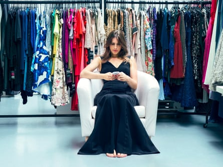 All dressed up ... Girl Meets Dress founder, Anna Bance.