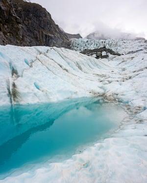The Fox Glacier on South Island.