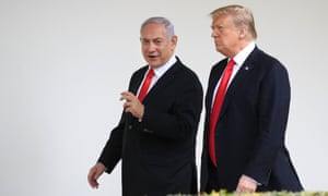 In March, Donald Trump hosted Benjamin Netanyahu in Washington.