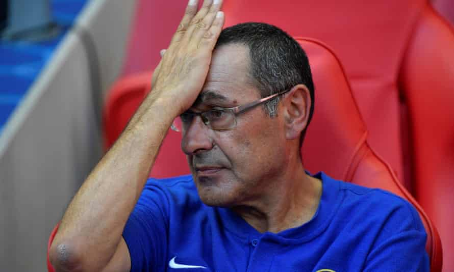Maurizio Sarri has plenty to ponder ahead of Chelsea's match at Huddersfield this weekend.