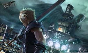 Cloud Strife joins a group of eco-terrorists in Final Fantasy VII Remake.
