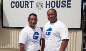 Mathew Batsiua and Squire Jeremiah of the Nauru 19