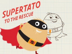 How to draw Supertato18