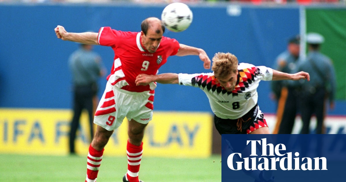 Golden Goal: Yordan Letchkov for Bulgaria v Germany (1994) | Daniel Harris