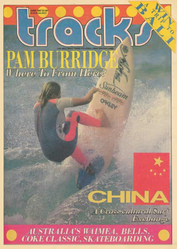 Tracks Magazine cover, June 1987