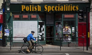 A shop specialising in Polish goods