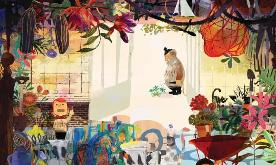 Love and loss … Tibble and Grandpa by Wendy Meddour and Daniel Egneus.