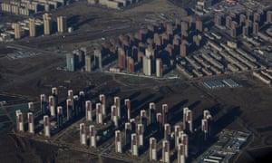 New housing developments outside Beijing.