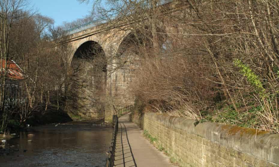 The Water of Leith at Coltbridge, Edinburgh.