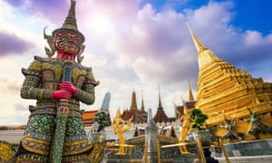 Wat Phra Kaew is the most sacred Buddhist temple in Thailand, and a major tourist draw.
