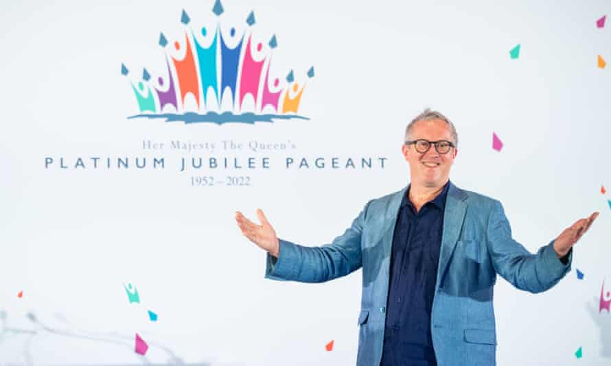 Pageant master Adrian Evans at the launch of Platinum Jubilee Pageant at the Victoria And Albert Museum, London.