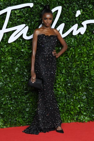 The model Leomie Anderson