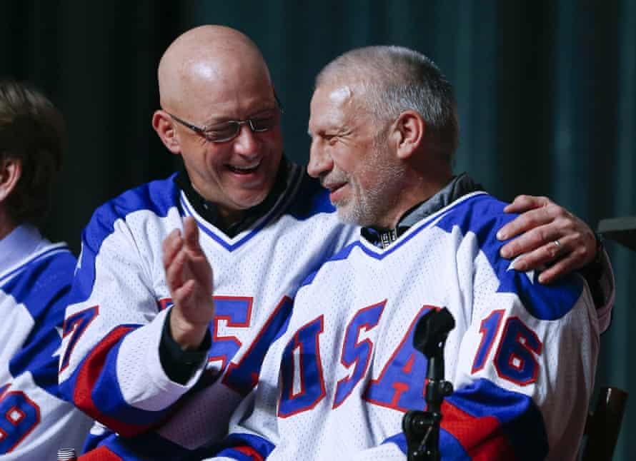 Jack O'Callahan and Mark Pavelich