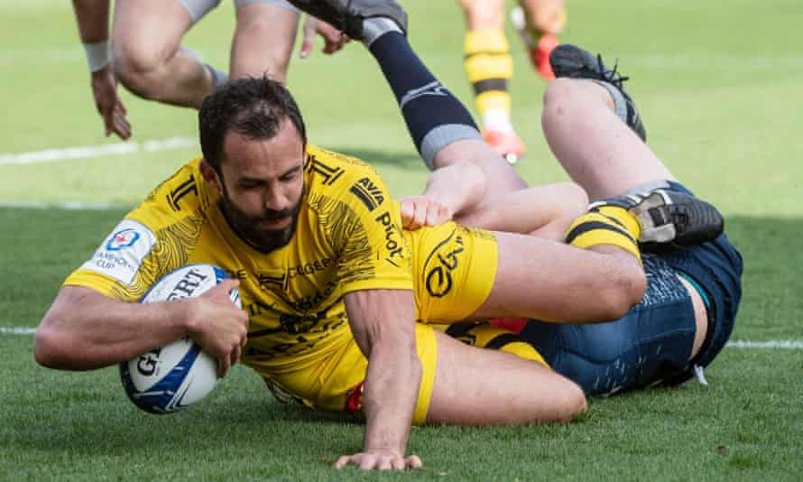 Geoffrey Doumayrou scores late on to seal victory for La Rochelle